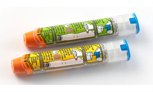 Dụng cụ tiêm tự động Epinephrine