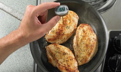 Nhiệt độ nấu tối thiểu đảm bảo an toàn
