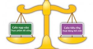 Lượng Calo hợp lý cho cơ thể