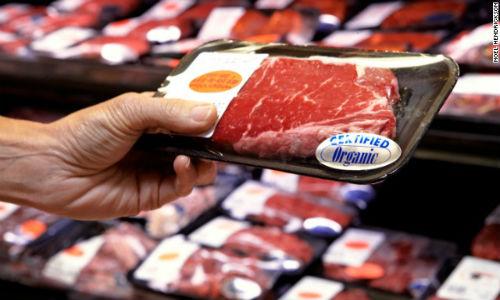 Đóng gói thịt tươi và thịt đã qua chế biến