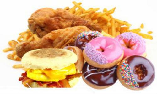 Thực phẩm và đồ uống chứa nhiều chất béo, đường và muối