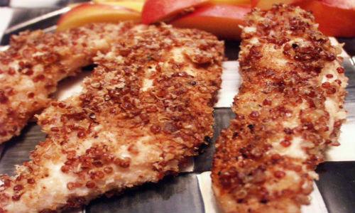 Món gà rán hạt Quinoa