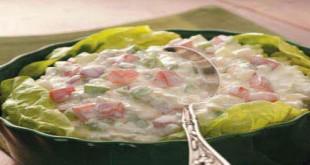 Món salad trộn phô mai
