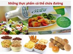 thuc pham chua duong