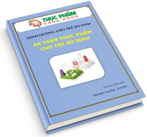 An toàn thực phẩm cho trẻ sơ sinh